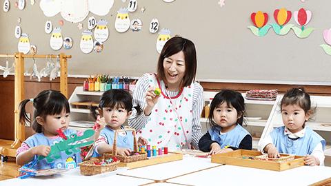 2歳児クラス「たまごクラブ」